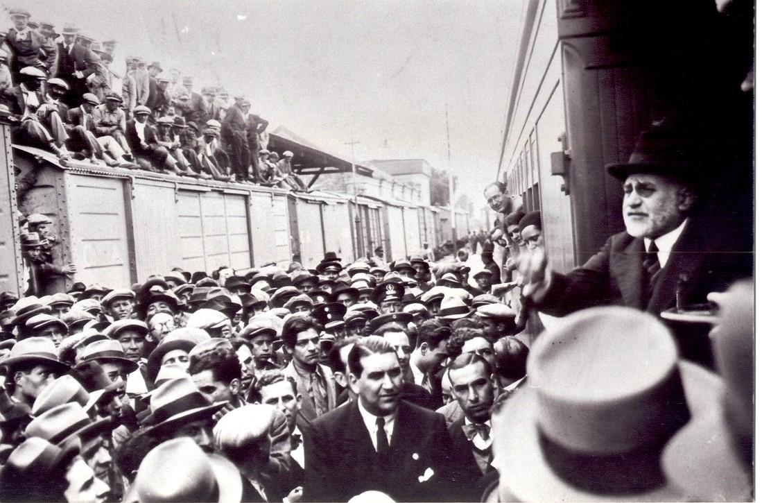 LISANDRO DE LA TORRE, EL ESTEREOTIPO DEL POLÍTICO HONESTO E INCLAUDICABLE
