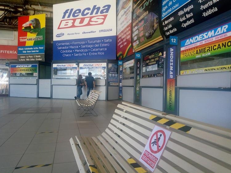La Terminal de ómnibus de Liniers se prepara para retomar la actividad
