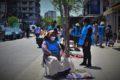 Los manteros amenazan con volver a instalarse en Liniers