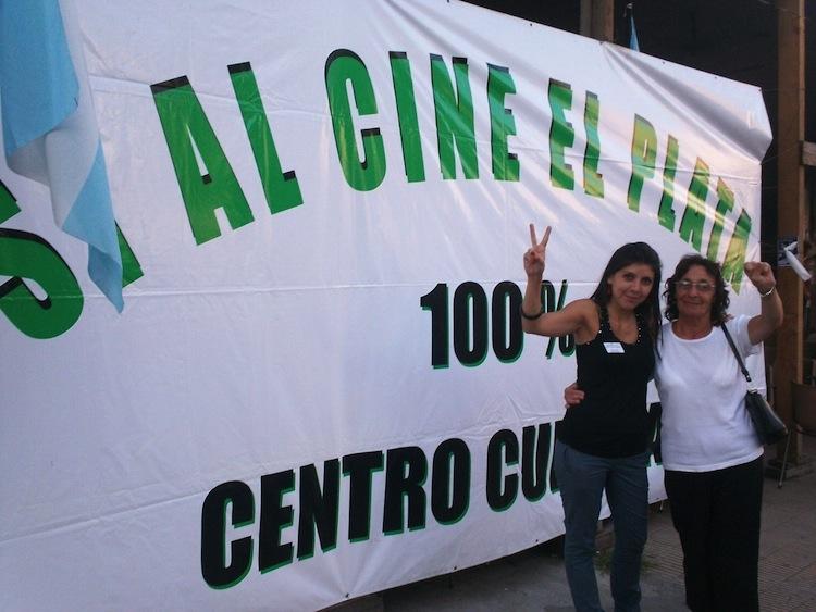 """""""Me gustaría que el cine El Plata replique a escala barrial la oferta del Centro Cultural General San Martín"""""""