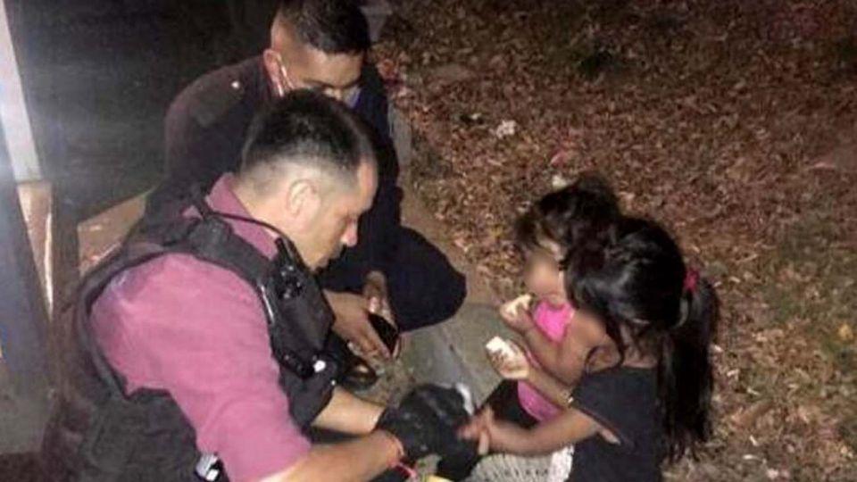 Liniers: abandonan a sus dos hijas pequeñas a la vera de la General Paz