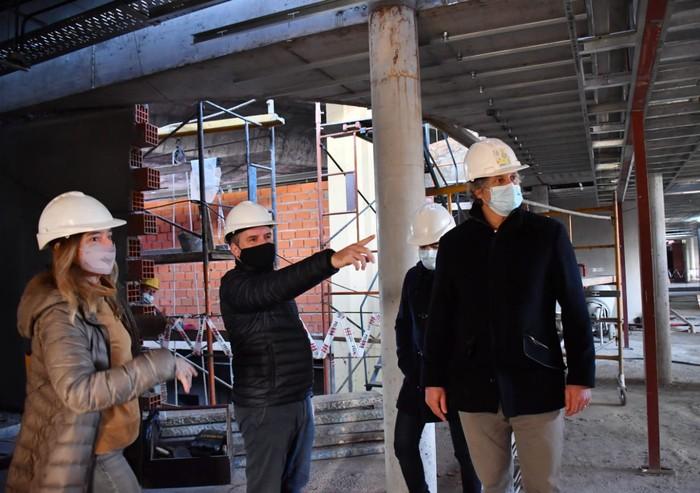 Avanza la obra de la nueva Comisaría Comunal 9 en Liniers Norte