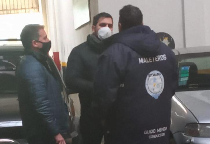 El gremio de maleteros bloqueó la Terminal de Liniers